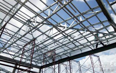 Roof Structure of Lightweight Steel Truss